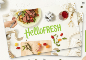 hellofresh meal delivery service virtual assistant gift guide