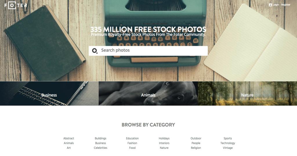 foter free stock photos