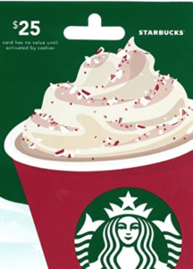starbucks virtual assistant gift guide