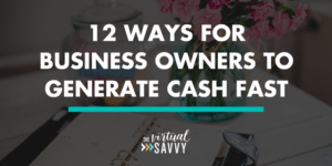 generate cash fast