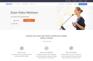 Zoom Webinars for Virtual Assistants