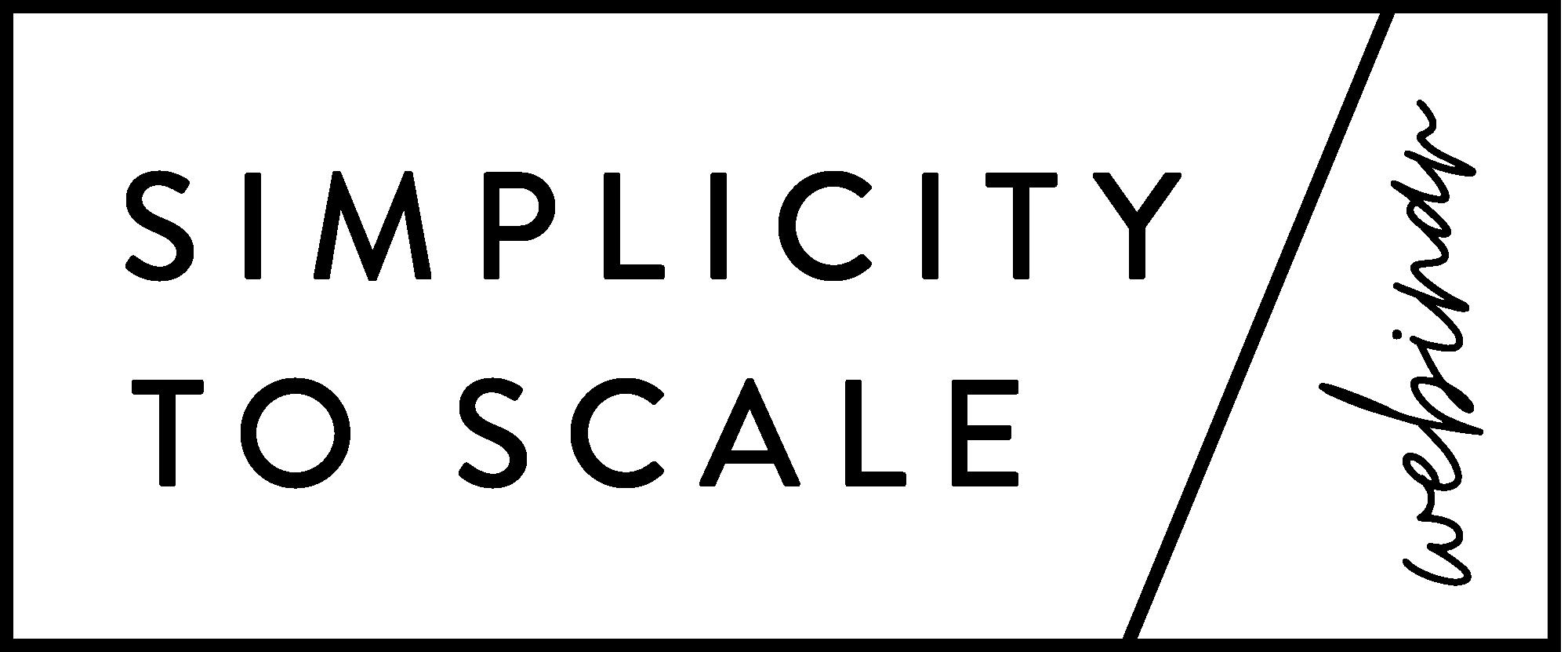 SimplicityToScale_Logo 6